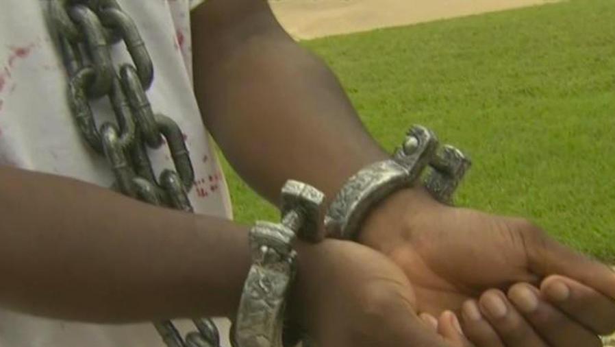 disfraz de esclavo