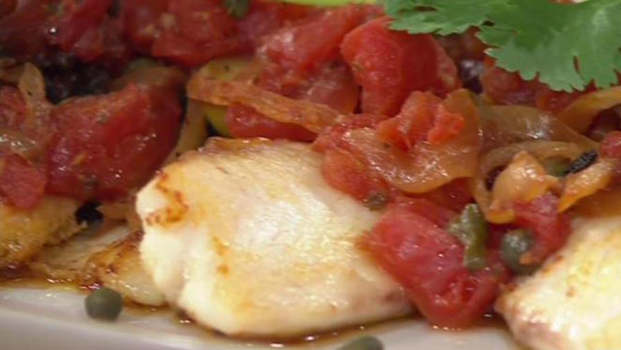 Receta de cocina: Cómo hacer un Pescado a la Veracruzana