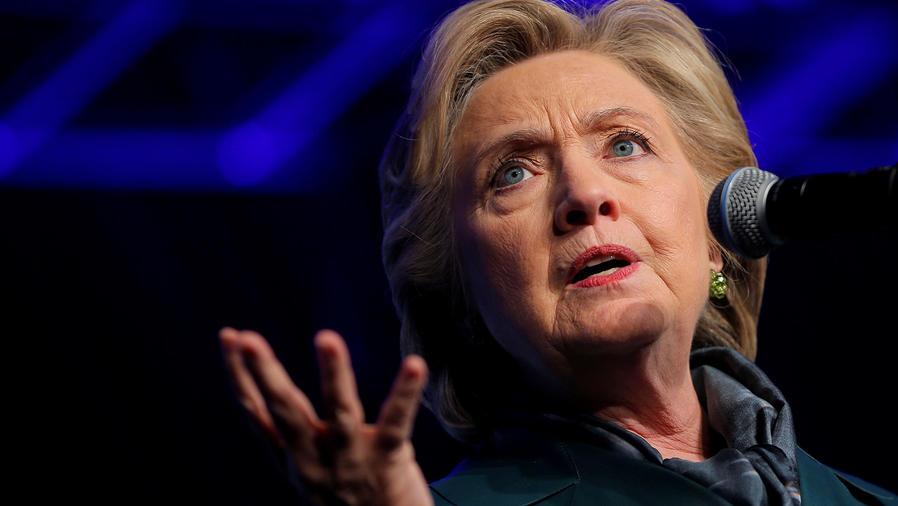Discursos contradictorios de Clinton