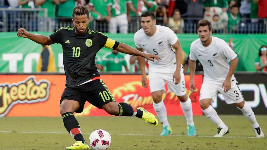 México vence a Nueva Zelanda