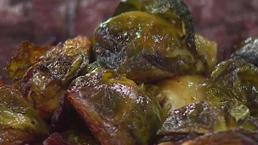 Recetas de cocina: Coles de Bruselas rostizados en bacon