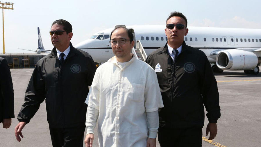 extraditan a empresario chino