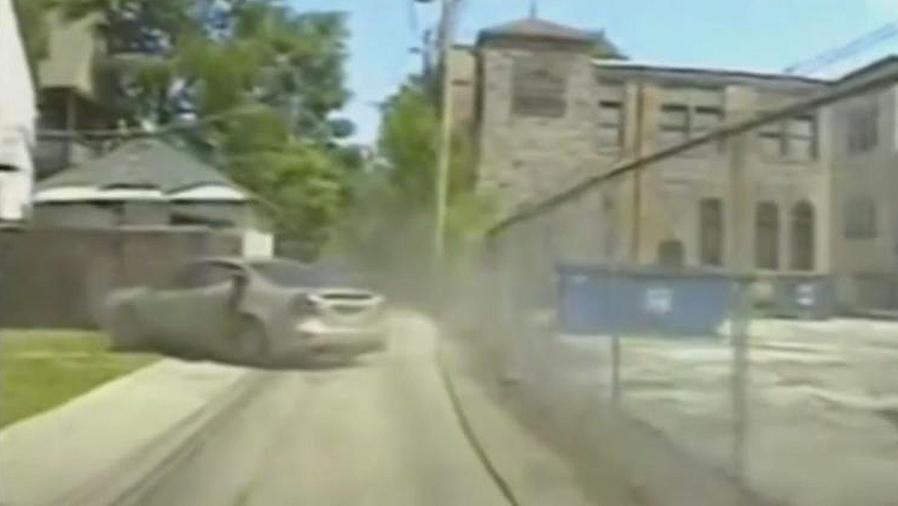 video de persecucion policial