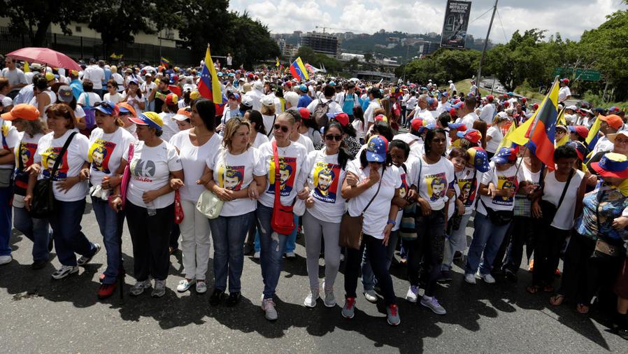 nueva manifestacion en venezuela