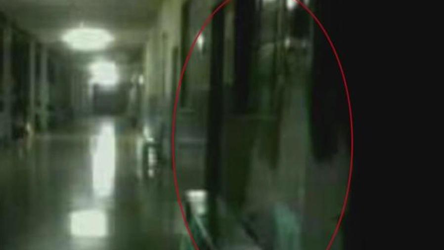 foto de fantasma en hospital