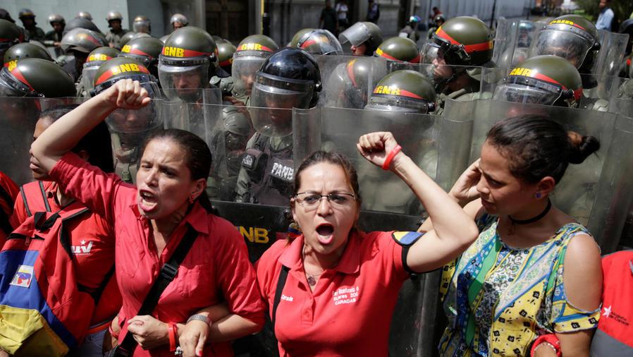 venezuela se calienta