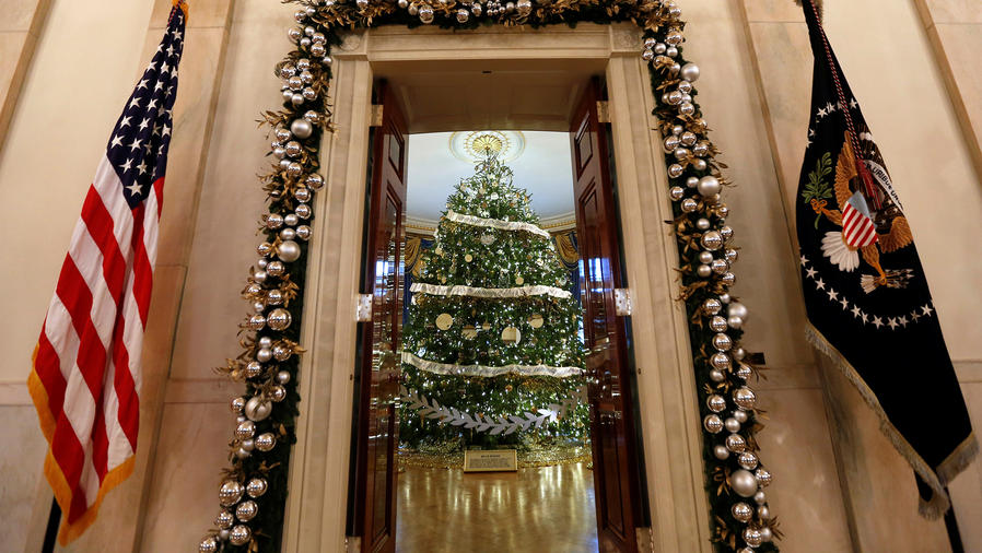 Llegó la última Navidad de los Obama en la Casa Blanca