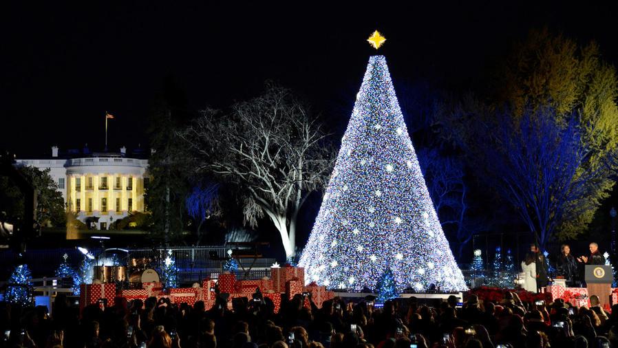 arbol navidad de la casa blanca
