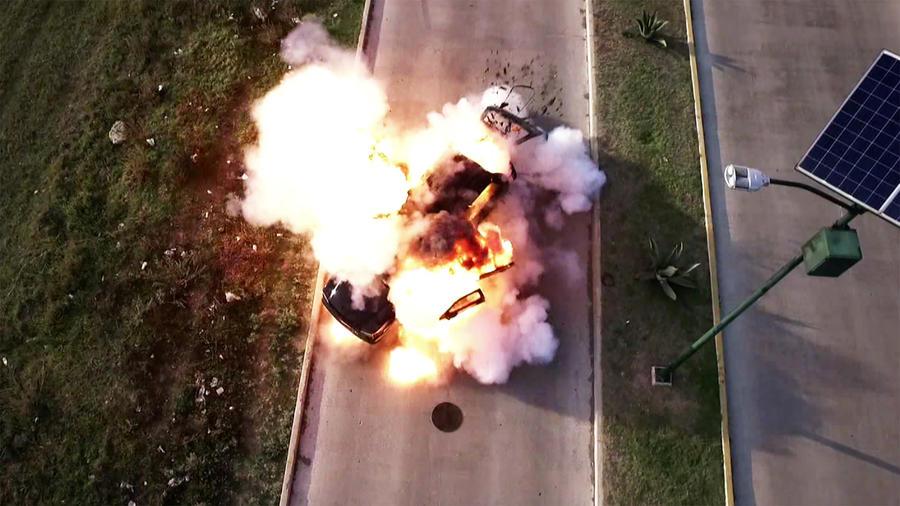 Momentos de impacto 32, explosión
