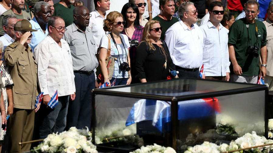 Despiden a Fidel Castro
