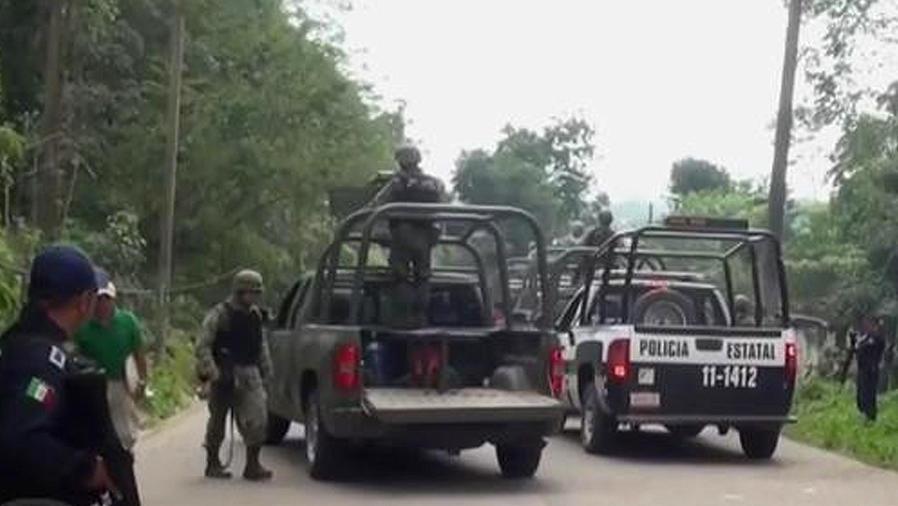 tiroteo entre militares y delincuentes