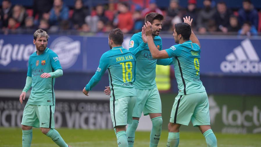 barcelona vence al osasuna