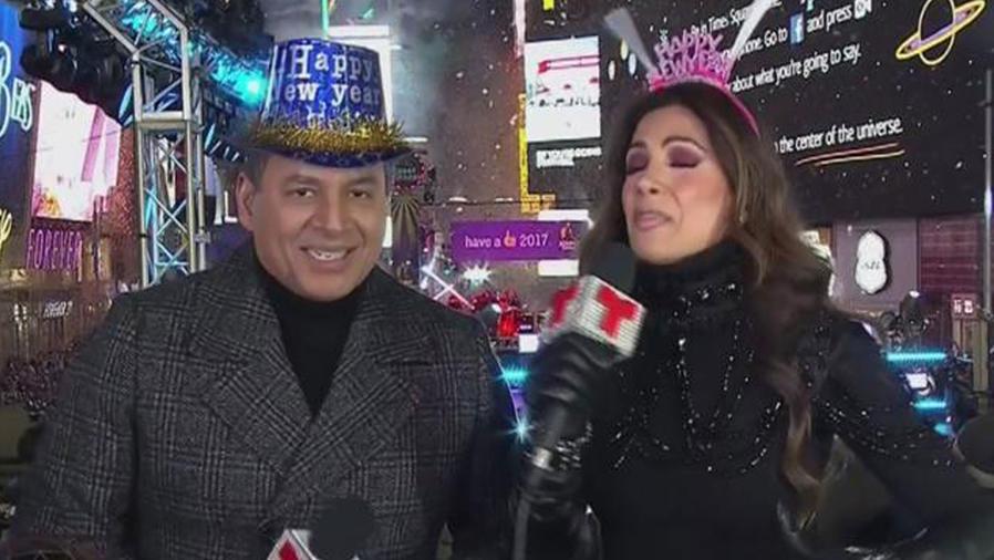 ¡Así fue la gran fiesta de bienvenida al año nuevo!