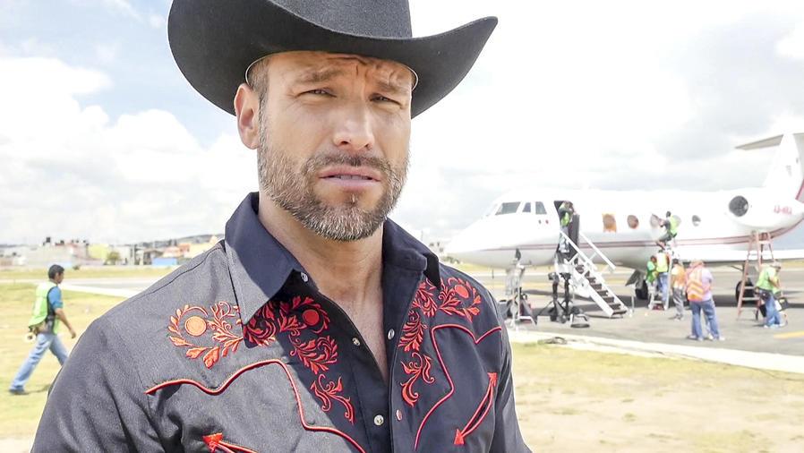 Rafael Amaya en El Chema