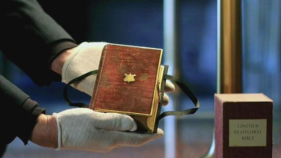 biblia de abraham lincoln