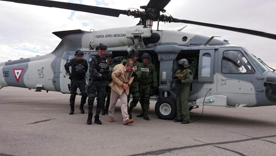 Californianos se alegran de la extradición al Chapo