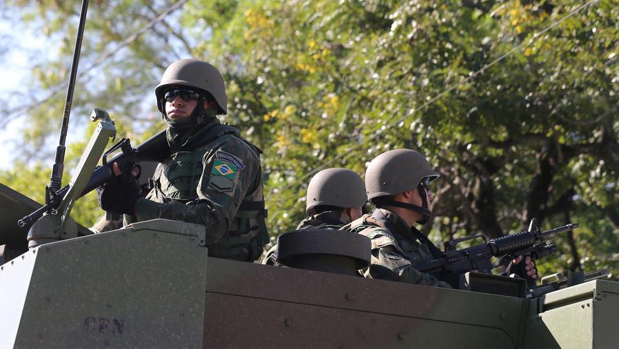militares en brasil