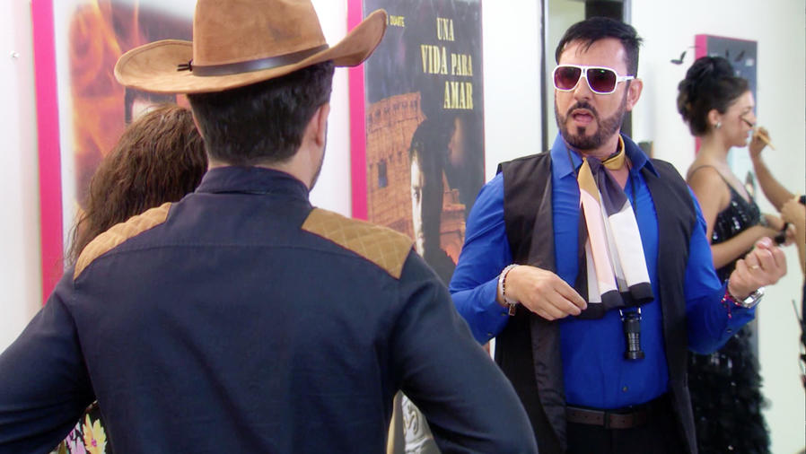 Miguel Varoni, El Director, asustado, La Fan