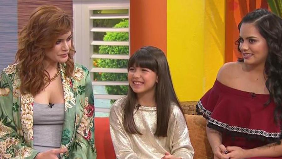 ¡Recibimos al elenco de la serie sobre Jenni Rivera!