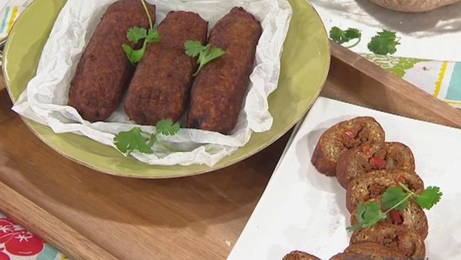 Recetas de cocina: Cómo hacer Alcapurrias con Picadillo
