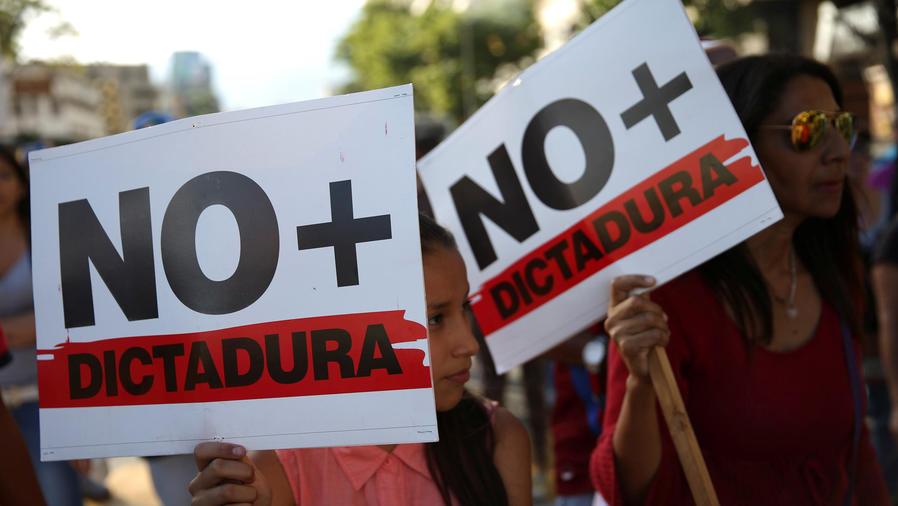 indignacion por golpe de estado venezuela