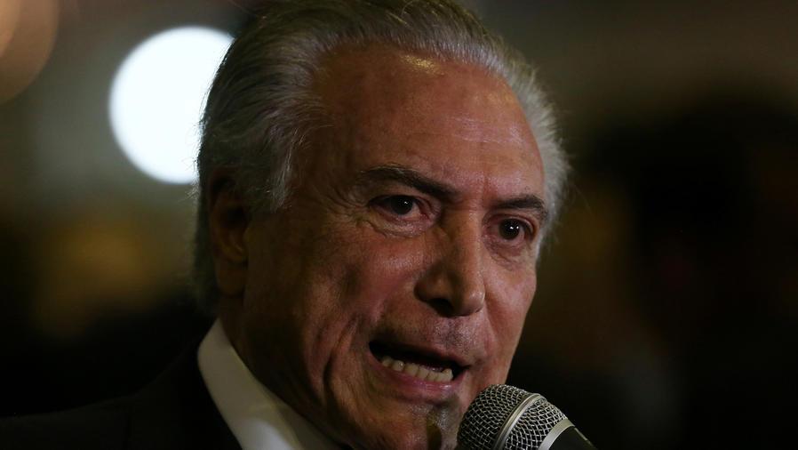 Presidente de Brasil, a juicio por irregularidades de campaña