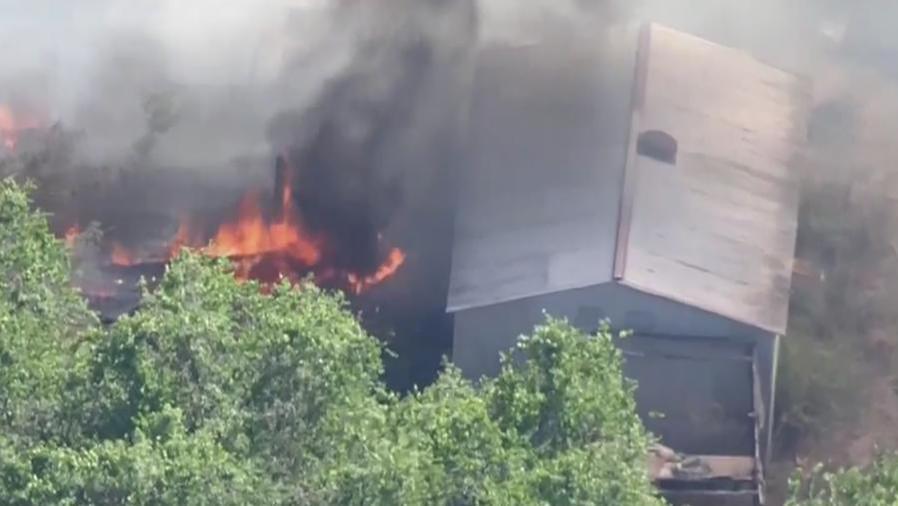 Incendios calcinan amplias zonas en la Florida
