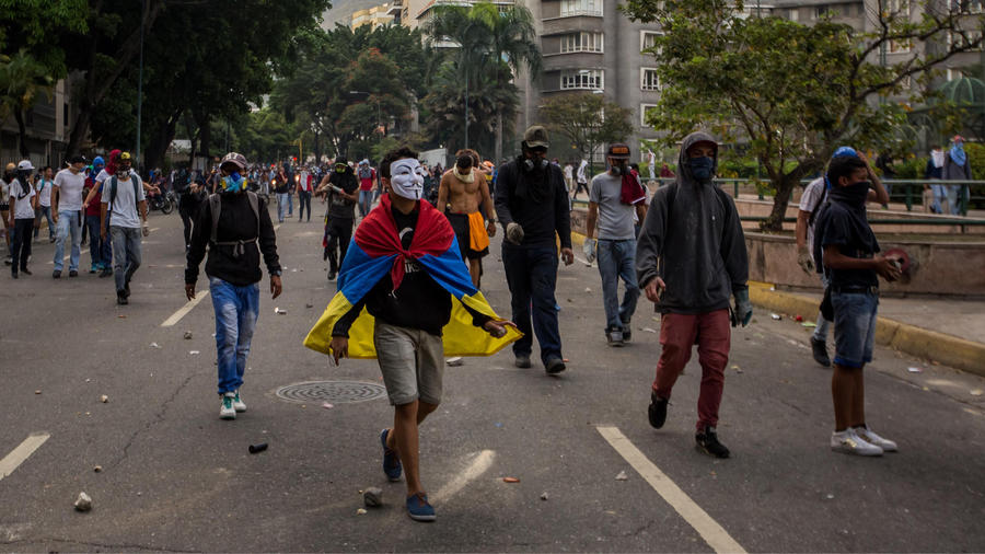 calles de venezuela