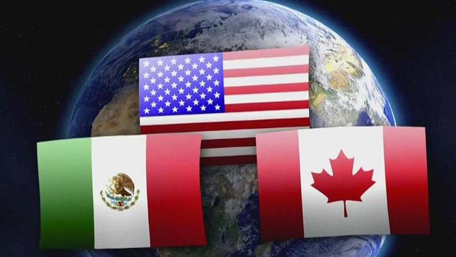 banderas de eeuu, canada y mexico
