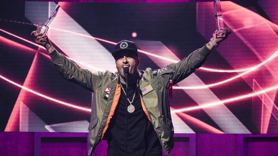 Nicky Jam gana Premios Billboard 2017