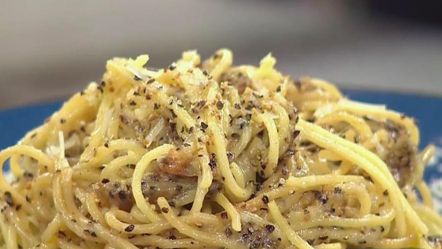 Recetas de cocina: Pasta en Salsa de Mantequilla y Queso