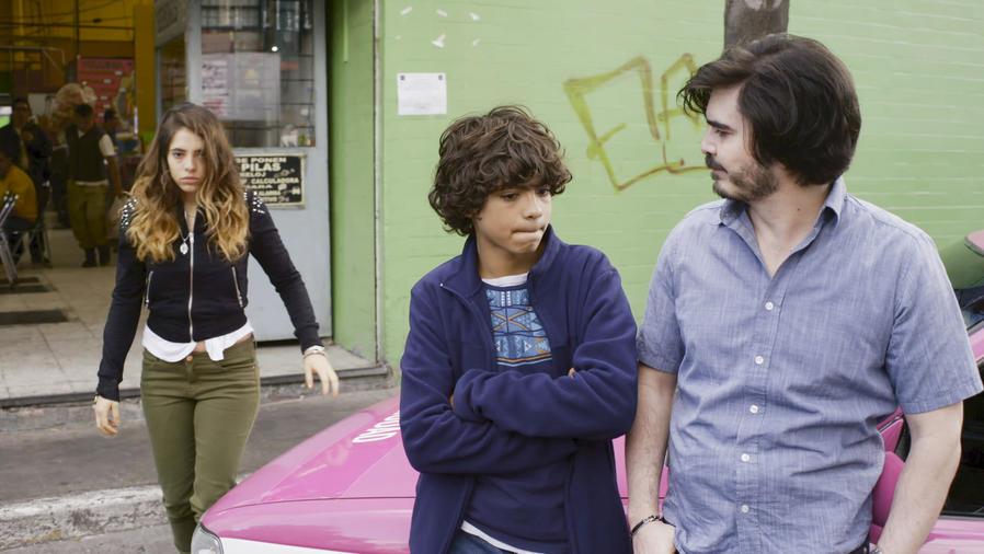 Arantza Ruíz Iñaki Godoy y Pablo Abitia en La Querida del Centauro 2