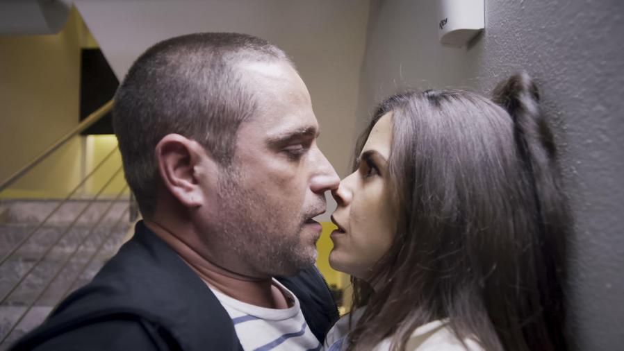 Michel Brown y Evelin Cedeño en La Querida del Centauro