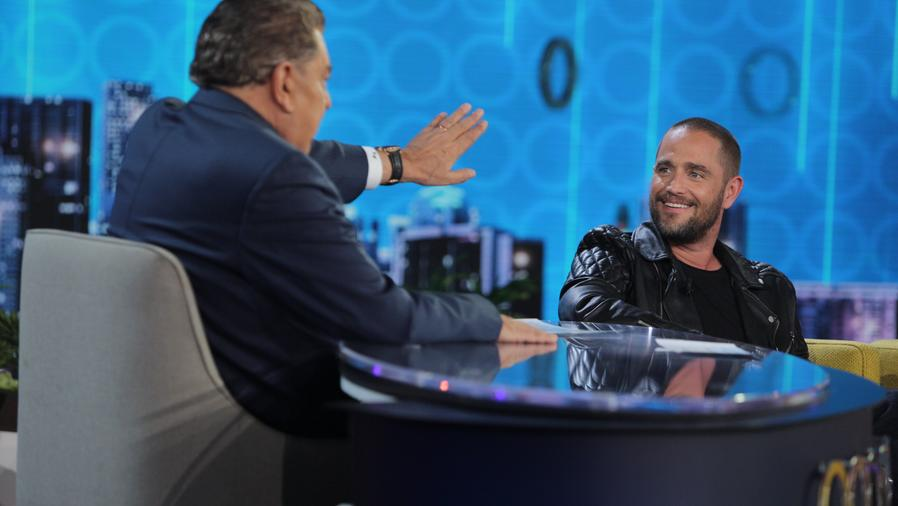 Michel Brown en entrevista en Don Francisco Te Invita