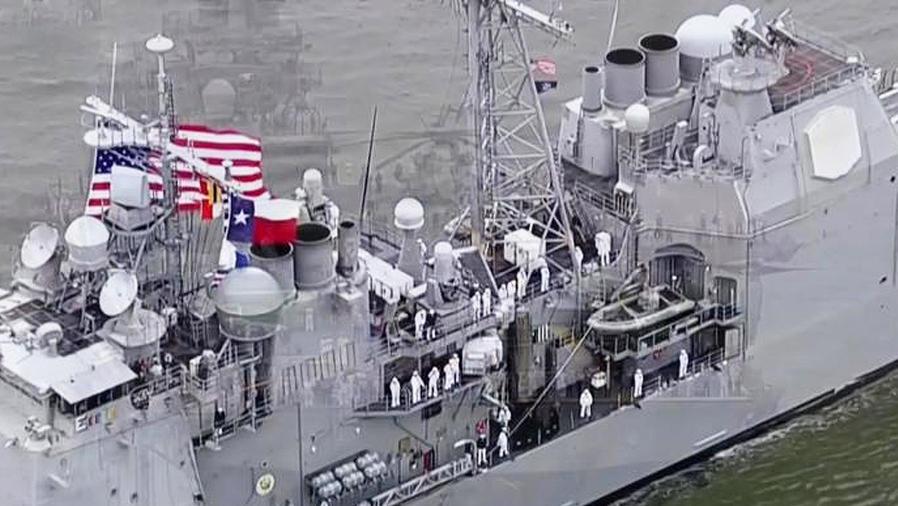 marineros llegan a ny