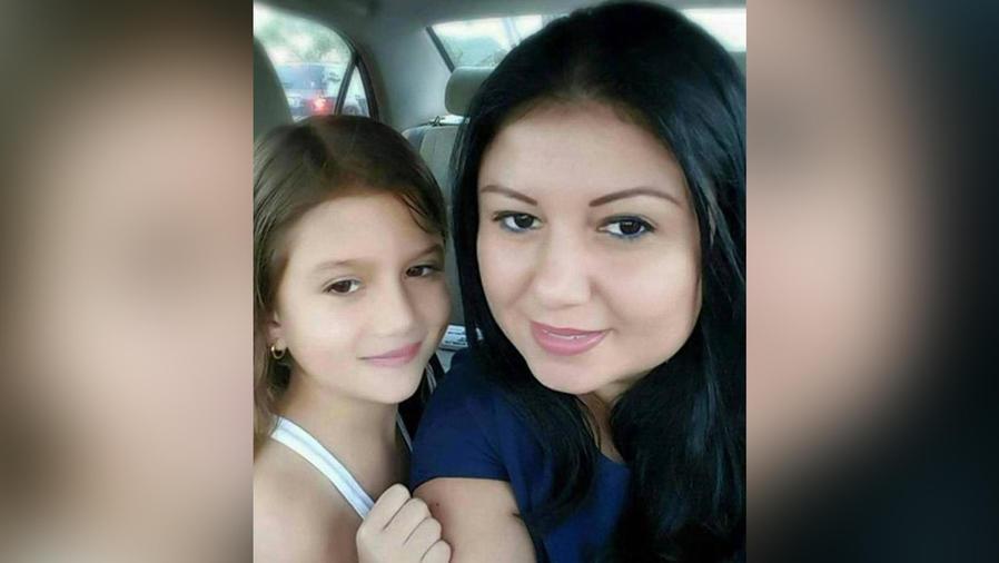 liliana moreno con su hija