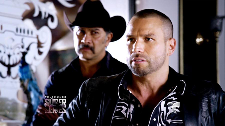Rafael Amaya en la quinta temporada de El Señor de los Cielos