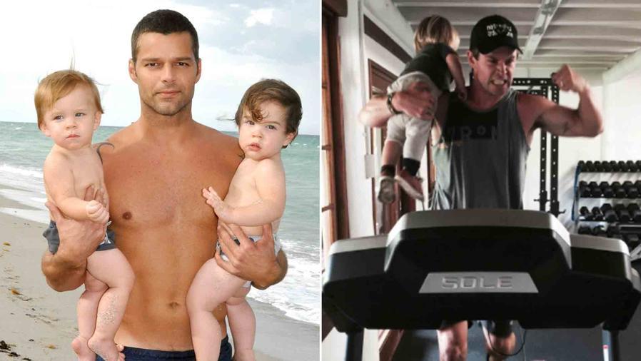 Ricky Martin, Chris Hemsworth