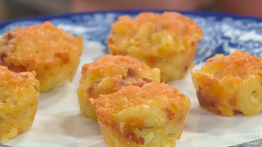 Recetas de cocina: Cómo hacer unos deliciosos y diferentes Cupcake de Pasta y Queso