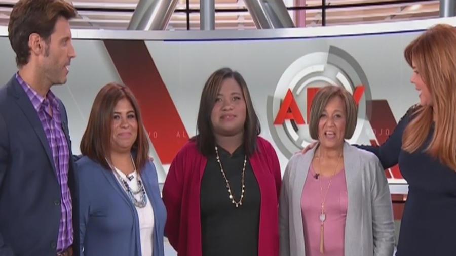 Cambio de imagen a tres mujeres que lo perdieron todo durante el huracán Irma