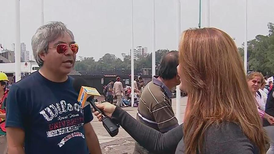 Miles de personas se unen para ayudar a los damnificados por el terremoto en México
