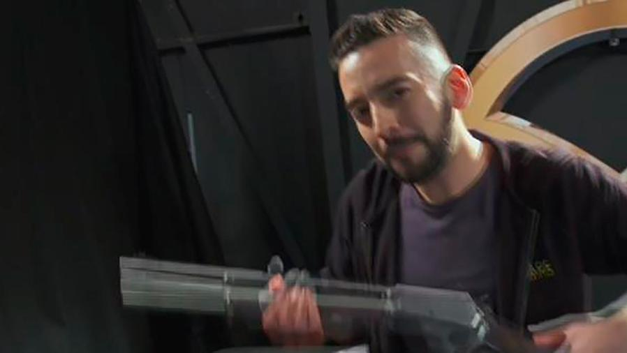 Francisco Cáceres te muestra cómo es el entrenamiento para ser un súper agente de película