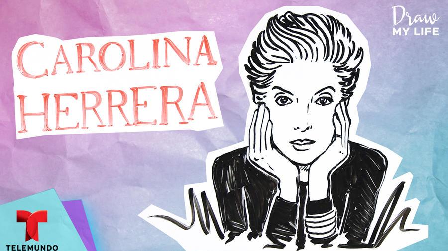 Ilustrando mi vida: Carolina Herrera