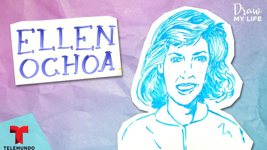 Ilustrando mi vida: Ellen Ochoa