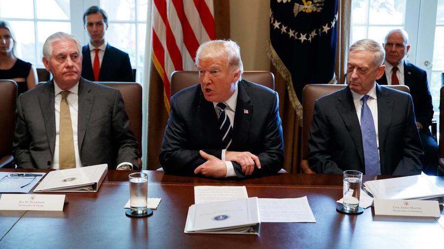 Donald Trump,Rex Tillerson,Jim Mattis