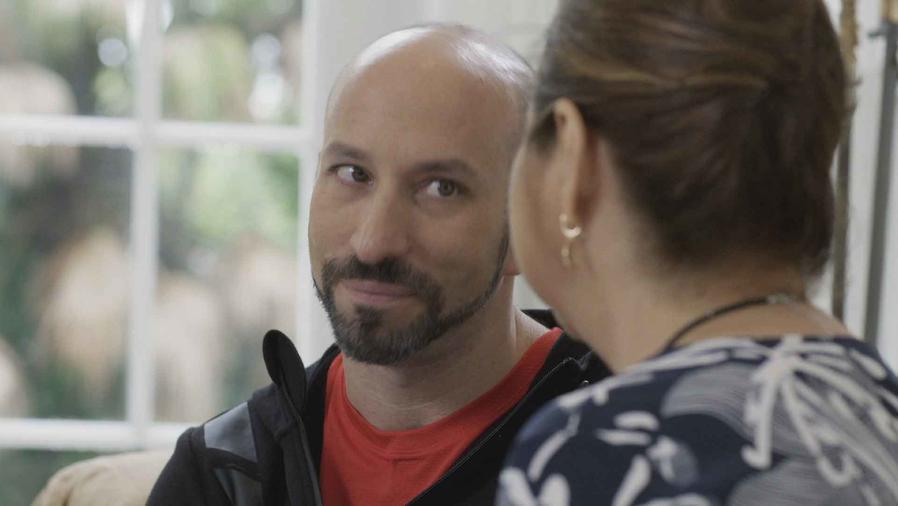 Ricardo Kleinbaum en Mariposa de Barrio