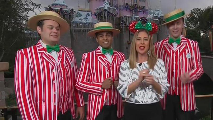 Te llevamos a conocer los detalles de la gran fiesta que tienen Disneylandia para Navidad