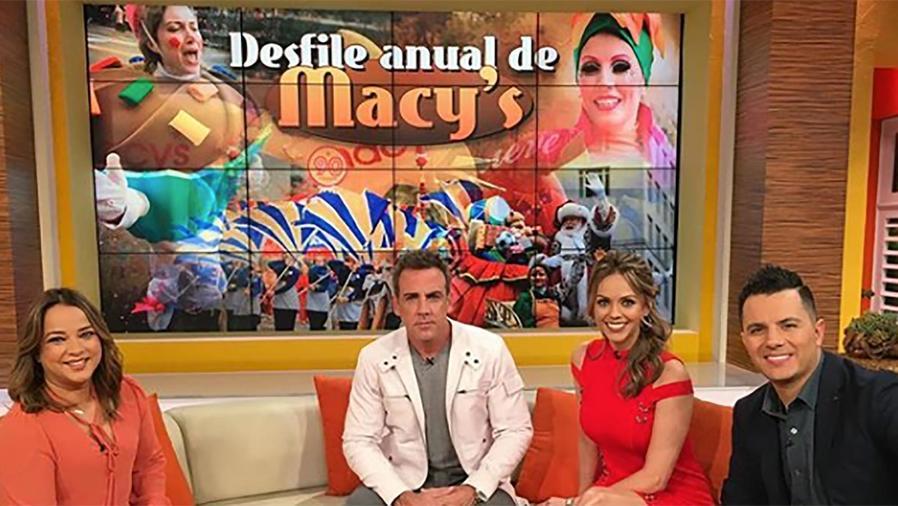 Carlos Ponce, Karim Mendiburu y Jéssica Carrillo presentarán el Desfile Anual de Macy's
