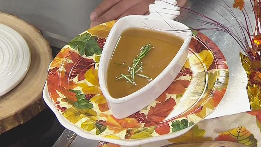 receta salsa de pavo