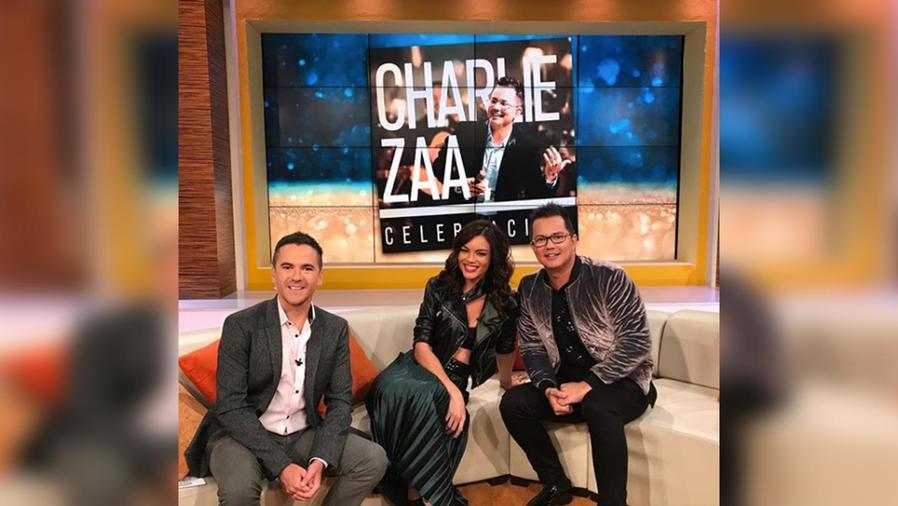 Charlie Zaa llega a casita para celebrar con nosotros sus 20 años de carrera en la música